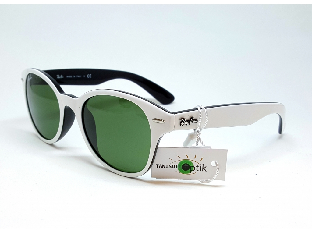 9c24b0ea2a5 Ray Ban RB 4141 770 Weiss Tanisdil Brille