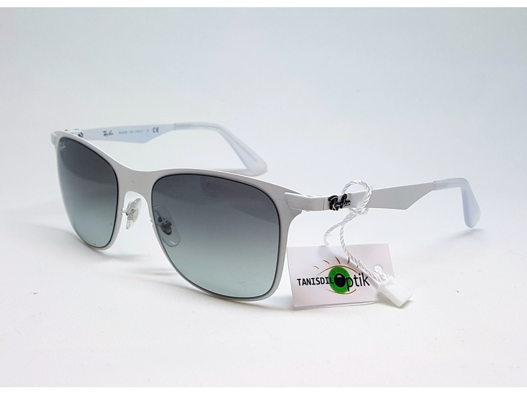 e16beeb60ca Ray Ban RB 3521 163 11 Weiss Tanisdil Brille