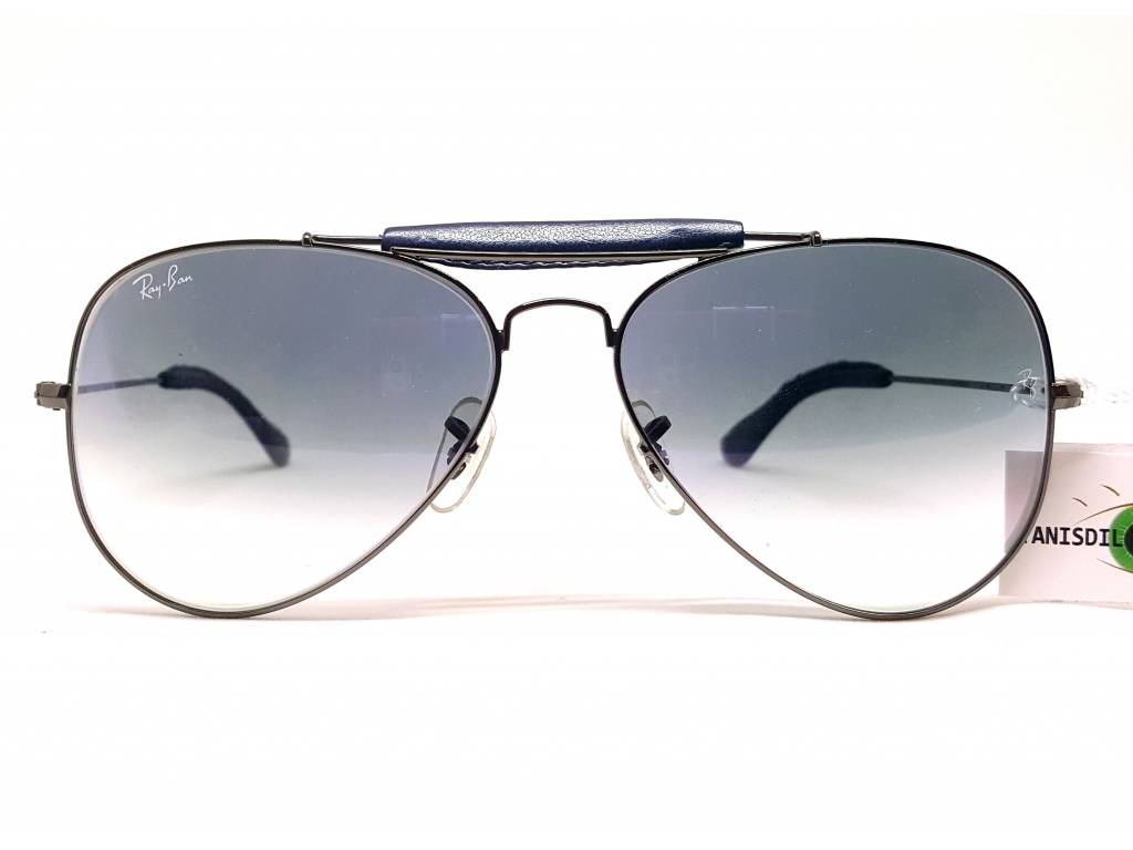 RAYBAN RB3422 Q 004/32 Silber